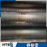 Tubo de aleta espiral de acero inoxidable de soldadura de alta frecuencia para economizador de caldera