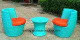 전천후 PE 등나무 옥외 안뜰 안락 의자 커피 의자 (YT258)