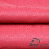 Água & do Sportswear tela 100% tecida do poliéster do filamento do jacquard do jacquard para baixo revestimento ao ar livre Vento-Resistente (53133)