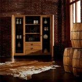 型の木製のワインのキャビネットデザイン