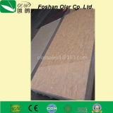 Feuille décorative intérieure et extérieure de la colle de fibre de panneau