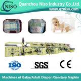 Wirkungsvolle Servosteuerung-Baby-Windel, die Maschine mit großer Geschwindigkeit (YNK500-SV, herstellt)