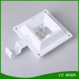 Der PIR Fühler-Wand-Licht wahlweise freigestellter Garten-Quadrat-Zaun-Solarlampen-LED