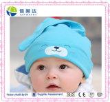 신생 아기는 100%년 면 아기 잔 모자를 채웠다