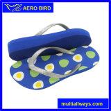 Solo sandalo dell'alto tallone di EVA di tre colori con la cinghia di scintillio