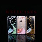 S 모양 2 색깔 iPhone5/6/6plus를 위한 액체 유사 이동 전화 상자