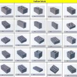 Halbautomatischer Block-Maschinen-Preis der Schwingung-Qt4-24b