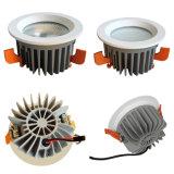 A presión la MAZORCA comercial 15~60W LED Downlight del CREE de la iluminación de la fundición LED