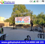 HD P6 Outdoor Video Pieno-Color LED Display per Advertizing in Spagna