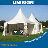 Fire-Retardant pvc Coated Tarpaulin voor Tents & Sunshade (UCT1122/650)