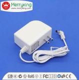 adaptador universal da C.C. da C.A. do branco 24W para o adaptador da potência do interruptor 12V2a