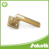 Классицистическая европейская ручка двери цинка типа, ручка двери крома, европейские ручки нутряных дверей