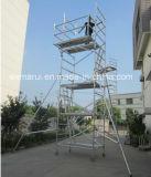 Veilig Ce keurde de Mobiele Toren van de Steiger van het Aluminium voor Decoratie goed