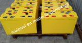 o AGM 2V400AH, coagula a bateria regulada de Aicd da ligação da bateria da potência da bateria da potência solar do ciclo da bateria recarregável válvula recarregável profunda para o sistema de energia solar