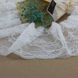 LingeriesおよびGarmentのためのかぎ針編みJacquard Lace Trim