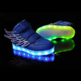 Low MOQ OEM Personnaliser Luminous LED Light Shoes pour enfants