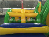 Bewegliches aufblasbares Fliegen-Fisch-Wasser-Spielzeug-aufblasbare Bananen-Boots-Gefäß-Spiele