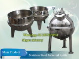 Double Jacketの500L Vertical Cooking Kettle