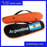 アルゼンチンの国旗プリントデザインPEのサンダル