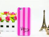 Caixa do telefone do silicone do estilo da listra dos acessórios do telefone para o iPhone 6 positivo (XSP-012)
