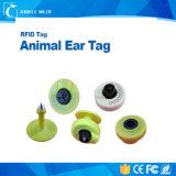 Tag de orelha animais de ISO11784/11785 125kHz Lf Tup Em4305 Fdx RFID