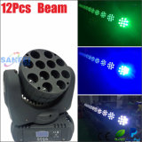12PCS CREE LED Beam Moving Head Disco Light