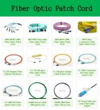 Cordon de connexion de fibre optique de la MU Om3
