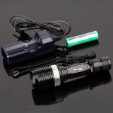 Drehende fokussierenled-Taschenlampe mit Cer, RoHS, MSDS, ISO, SGS