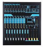 混合コンソールまたはミキサーまたはSoudのミキサーまたは専門家のミキサーの/Console/SoundコンソールかブランドのミキサーのCL8fx