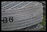 решетки стали нагрузки контейнера 20ft