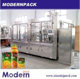 Máquina de rellenar de la bebida caliente de la tríada/máquina de la bebida
