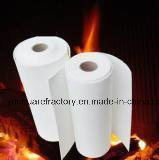 Papier de fibre en céramique d'isolation thermique de grande pureté