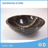 De natuurlijke Verschillende Gootstenen van het Graniet van de Vorm Marmeren voor Badkamers