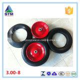 Rueda roja de acero del borde de Shandong 13X3.00-8