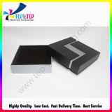 Rectángulo de regalo de papel plegable del collar de la fuente de gama alta de la fábrica
