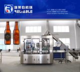 De automatische Machine van het Flessenvullen van het Glas van de Wijn van de Wodka van het Bier