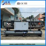 охлаженный водой охладитель воды винта 200HP с двойным компрессором