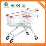최고 가격 금속 슈퍼마켓 트롤리 (JS-TEU02)