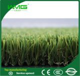 tappeto erboso sintetico dell'erba artificiale di 45mm per la sosta del giardino