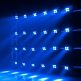 testa mobile dello zoom di 4X10W RGBW 4in1 per illuminazione della fase