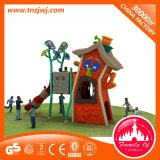 Nuovo insieme del campo da giuoco della trasparenza del playhouse dei bambini di disegno di pendenza