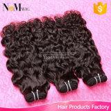 Волосы девственницы волны воды волос Aliexpress перуанские развевая естественные человеческие волосы (QB-PVRH-BW)