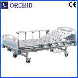 2 Crabks Manual Bed com Collapsible Aluminum Alloy Protective Railing (BCS10-I)