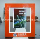 Présentoir acrylique promotionnel de lévitation magnétique avec des éclairages LED