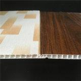 Panneau de mur de panneau de PVC de laminage de cannelure de Smalll 8*250mm