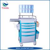 Carro Emergency de la anestesia del hospital de los productos médicos