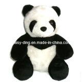 De Panda van de Zitting van de pluche met de Lange Pluche van het Haar