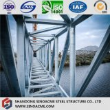 Pont en traverse en acier de la structure légère