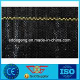 Stuoia del Weed di colore del nero del tessuto del geotessuto tessuta pp