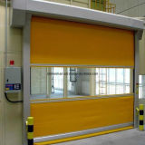 Motorized High Speed Fast Rolling Shutter Door for Food and Drug Industry